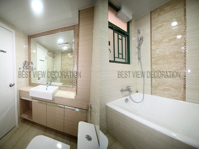 南浪海灣 Nerine Cove 主人廁 master bathroom 室內設計