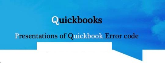 Quickbooks error code 3371