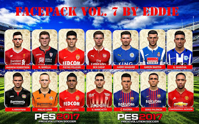 PES 2017 Facepack vol 7 by Eddie Facemaker