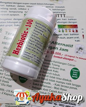kemasan produk herbiotic - 100 asli