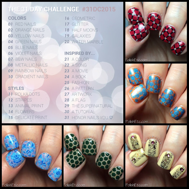 #31DC2015 Days 1-5 by McPolish