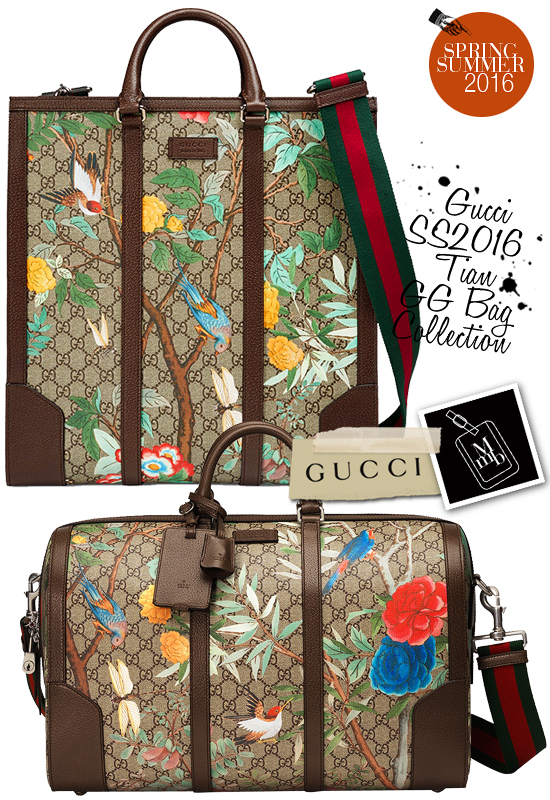 f154b10d1a5c ... GG collections takes chinese influences even further with nature prints  inspired by 18th century Chinese screens and tapestries... Gucci Spring  Summer ...
