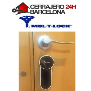 cerradura electrónica entr mul-t-lock