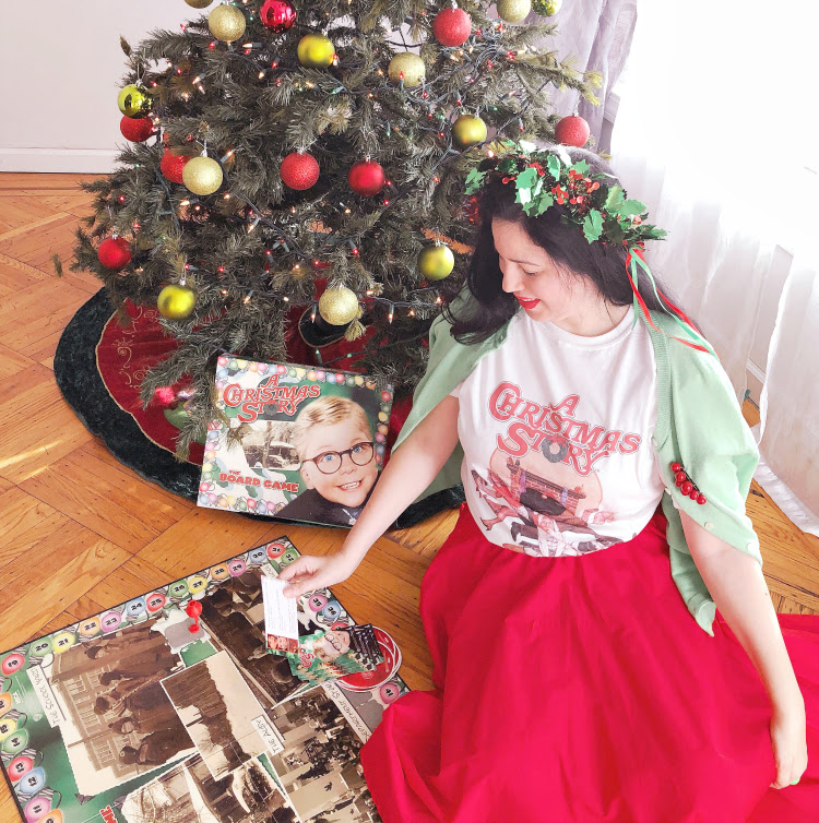 A Vintage Nerd A Christmas Story 80s Tess Vintage Blogger Vintage Inspired Fashion Retro Christmas