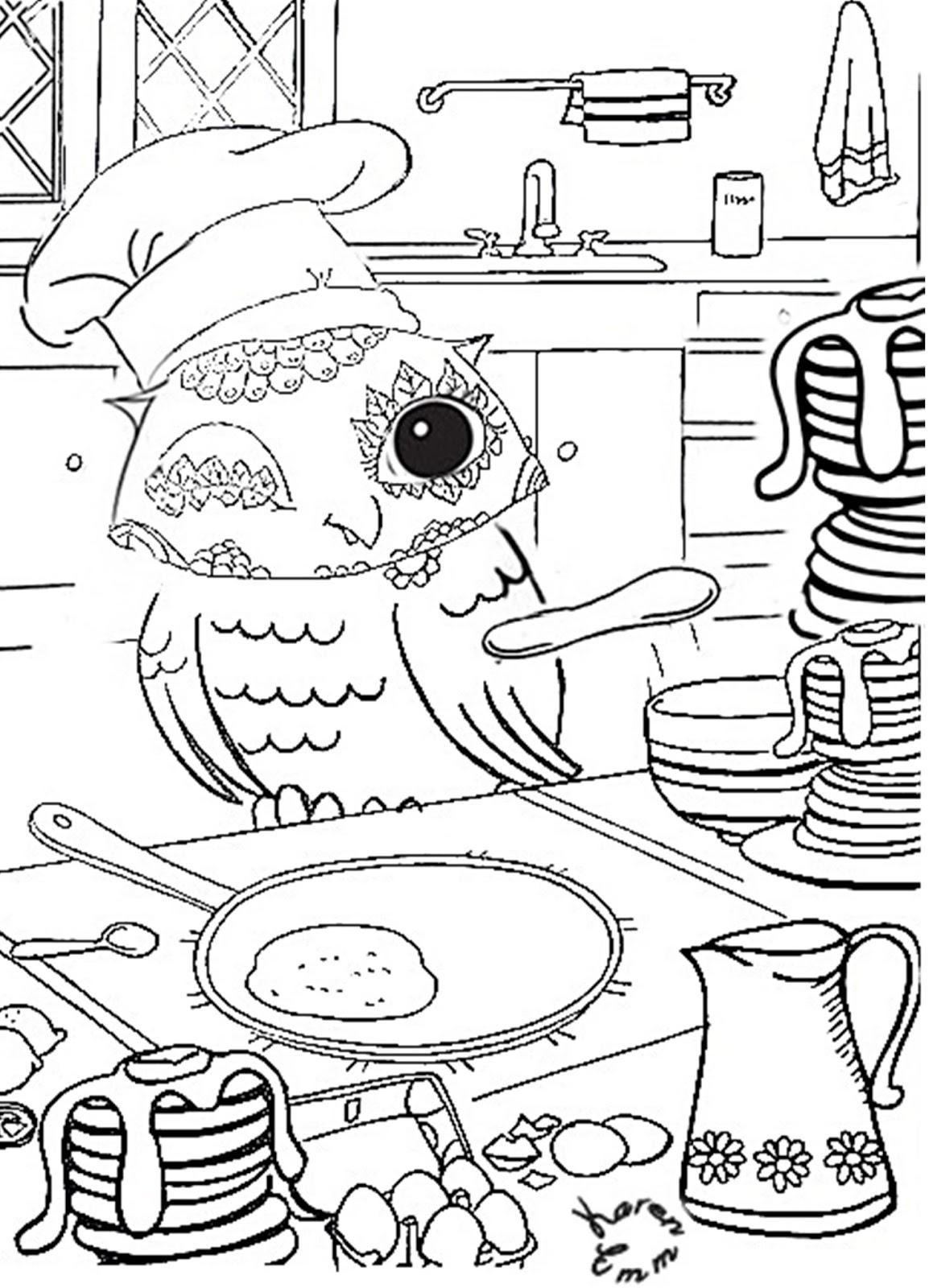 Kid Literature blog : Pancake day