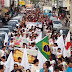 """""""Marcha em prol da Vida"""" promove campanha de combate às drogas em Araguari"""