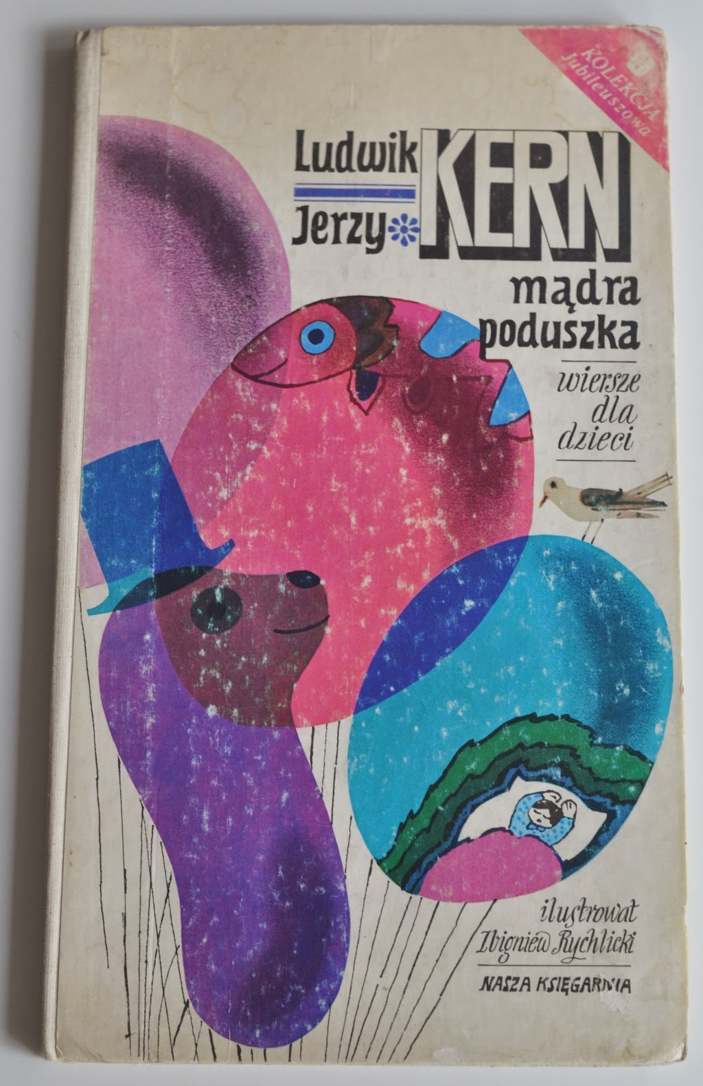 Miłośnik Zwierząt I Abstrakcji Mądra Poduszka Ludwik