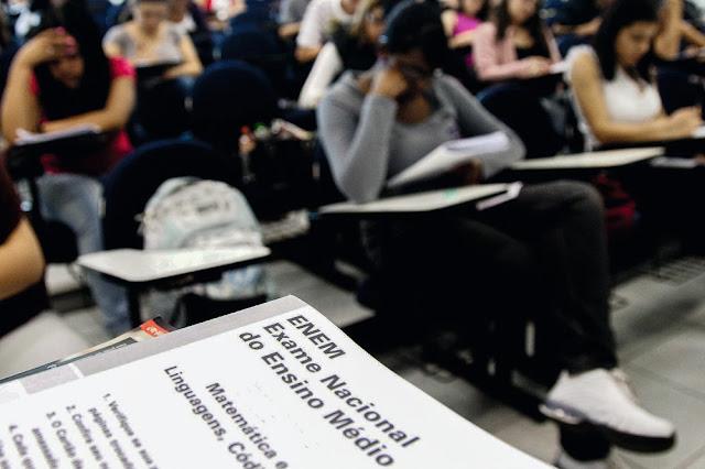 Mais de seis milhões de estudantes inscritos no Enem 2017