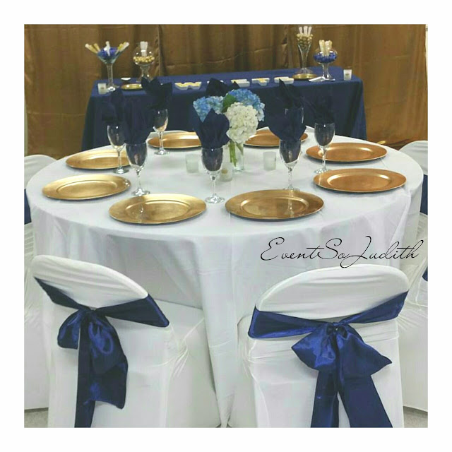Royal Prince Baby Shower, Eventsojudith, Baby Boy Baby Shower Idea,, Blue  Napkin