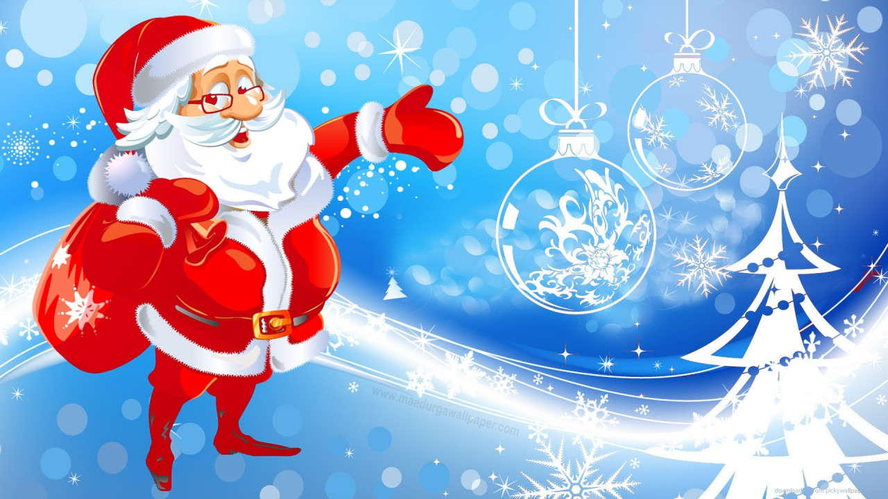 free download merry christmas santa claus photos images pictures