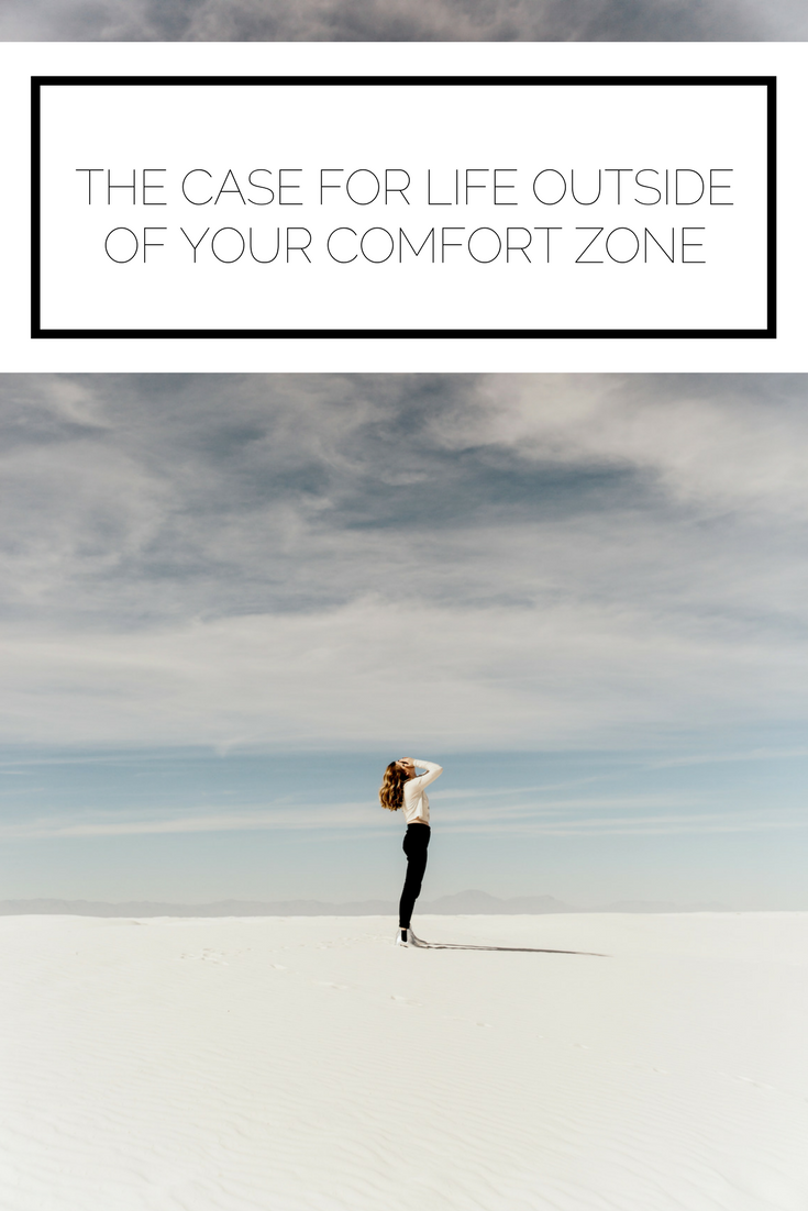 Check it out now or pin it to save for later! Life inside your comfort zone is alright, but literally nothing interesting ever happens there. Time to figure out how to push yourself out