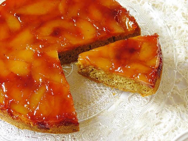recette de tarte Tatin bio avec des pommes et des poires