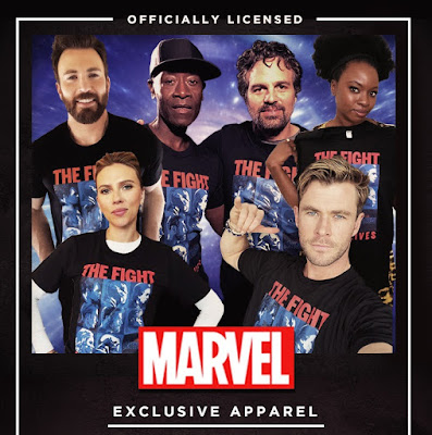 "Avengers: Endgame ""The Fight For Our Lives"" Limited Edition Charity T-Shirt"