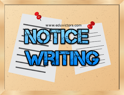 CBSE Class 8 - English Grammar (Notice Writing) (#cbseNotes)