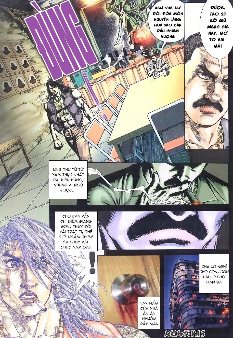 Hỏa Hồng Niên Đại Hắc Cốt Đường chap 112 - Trang 13