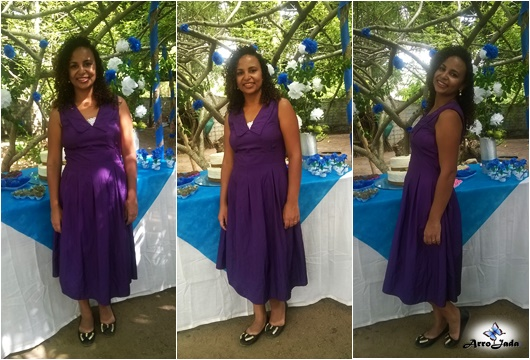 Look Roxo - Projeto 12 Cores