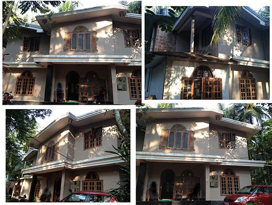 Old house before remodeling