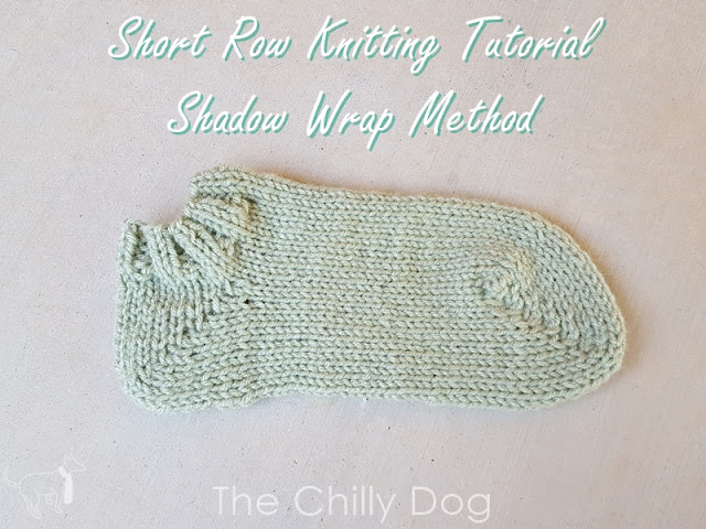 Knitting tutorial: shadow wrap short row heels | the chilly dog.