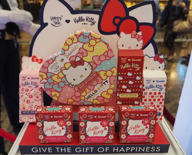 a photo of Happy Skin x Sanrio Characters Launch