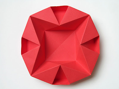 Origami Piatto per Natale - Dish for Christmas by Francesco Guarnieri