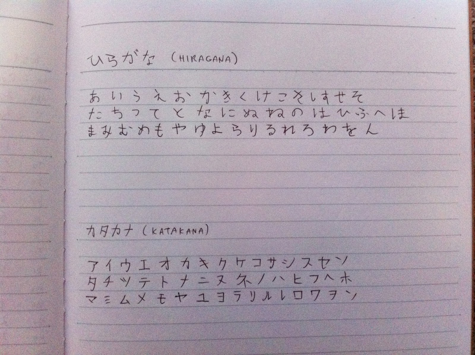 Love Story In Japan Hiragana Lessons