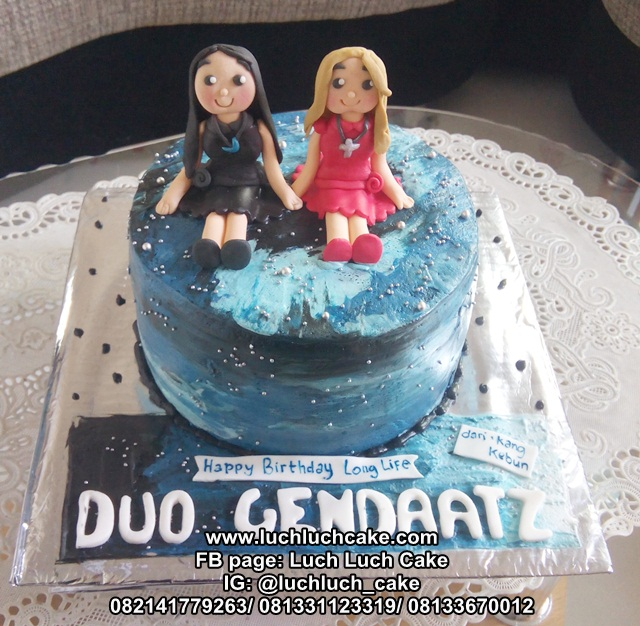 Kue Tart Ulang Tahun Cewek