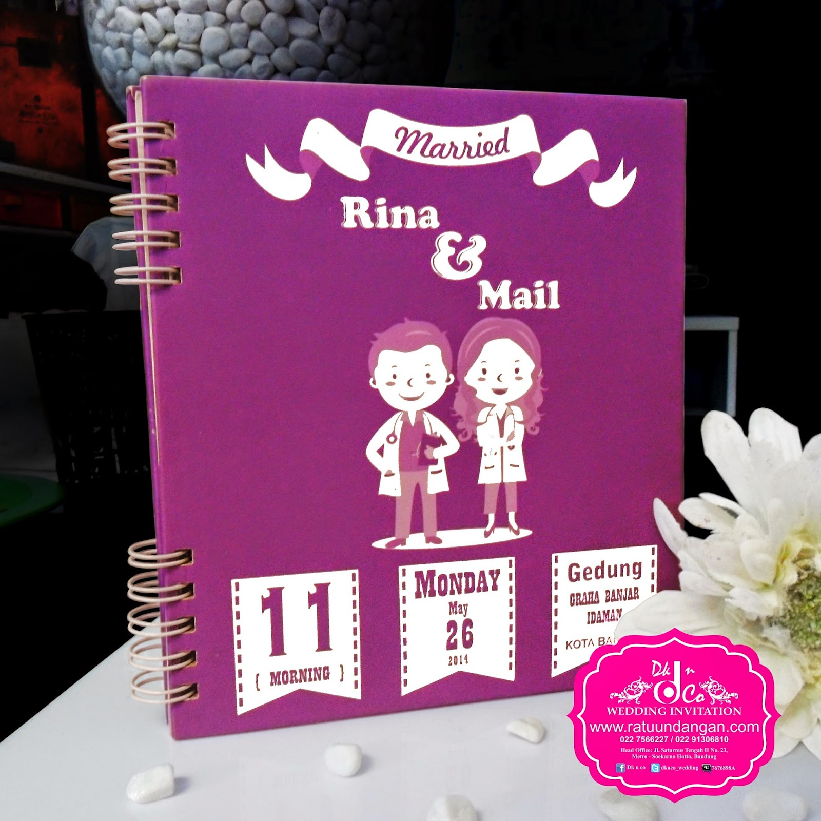 Kartu Undangan Pernikahan Murah Undangan Pernikahan Rina Mail