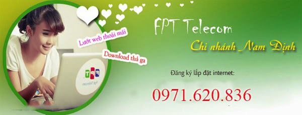 Lắp Mạng Internet FPT Phường Bà Triệu, Tp Nam Định