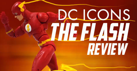 DC Icons The Flash Toy Review