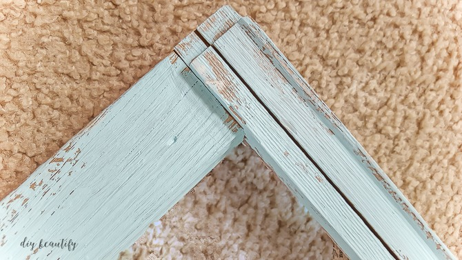 dry brush with chalk paint