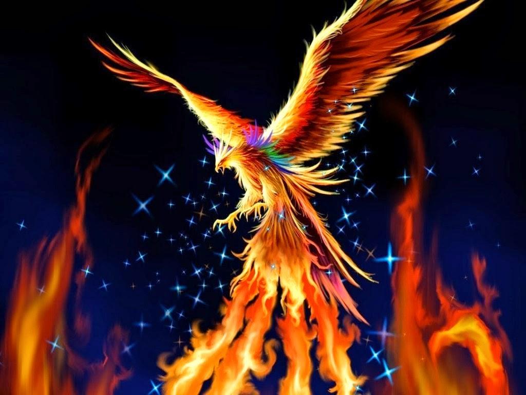 MITOLOGÍA PARA NIÑOS: El Fénix, el ave que renace de sus propias ...