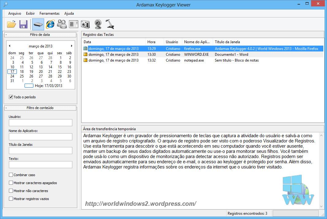 Download Ardamax Keylogger 4 6 2 + Crack ~ Lucas Henrique