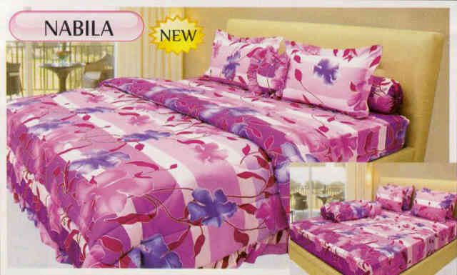 QQ Sprei Surabaya Sprei Bed Cover Lady Rose Rp