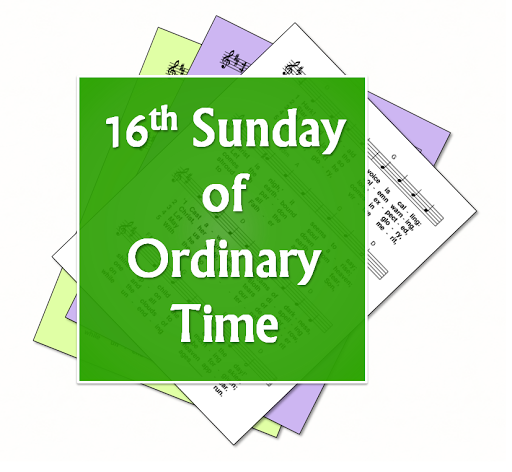 LiturgyTools net: Hymns for the 16th Sunday in Ordinary Time, Year C