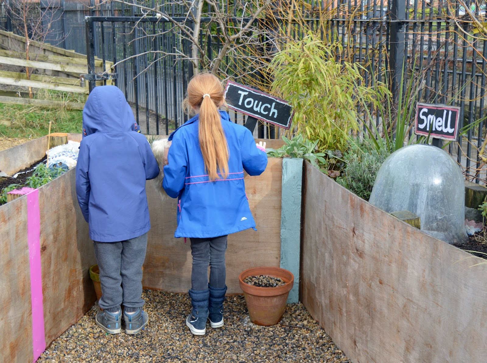 Ouseburn Farm Newcastle | A FREE Place to Take the Kids - sensory garden touch