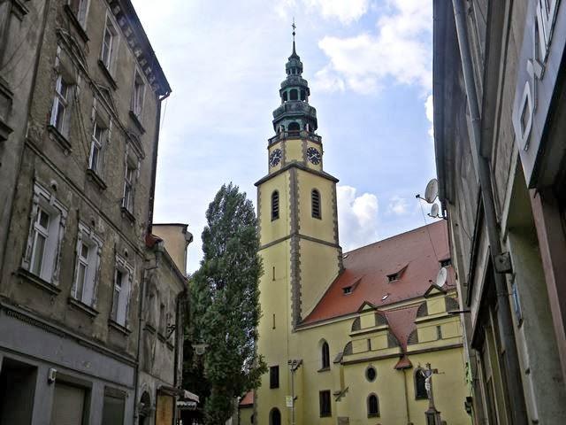 zabytki ziemi dolnośląskiej, kościoły, miasteczka