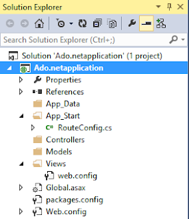 CRUD operations in ASP.NET MVC using ADO.NET