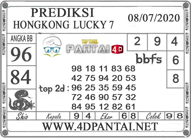 PREDIKSI TOGEL HONGKONG LUCKY 7 PANTAI4D 08 JULI 2020