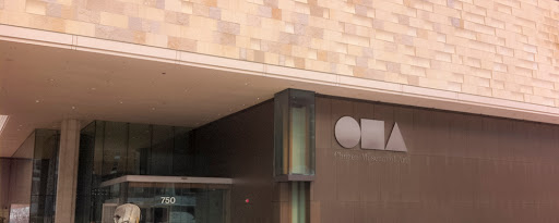 entrance to the Chazen Museum of Art in Madison WI