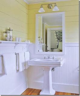 Future House Design Bathroom Beadboard Design