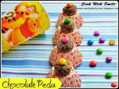 Marie biscuit chocolate balls,Chocolate pedas recipe,chocolate laddu,chocolate laddu recipe,marie biscuit recipes,no cook recipes for kids