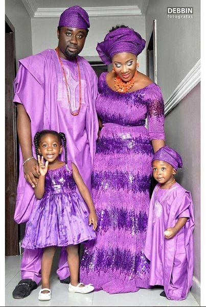 Mercy Johnson Okojie and family