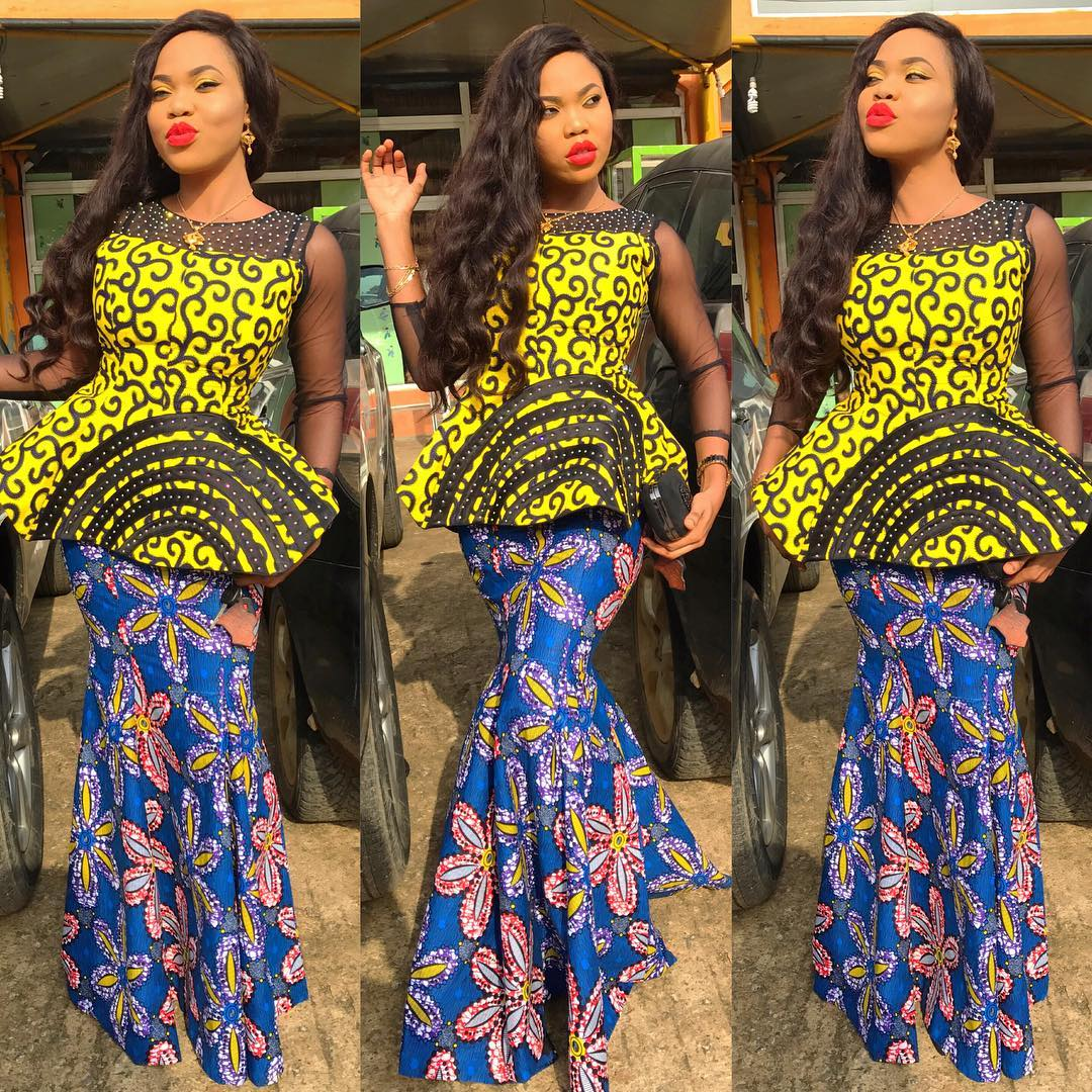 Top 20 Latest and Trendy women Ankara styles you should try out. »