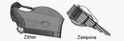 zither - zampona