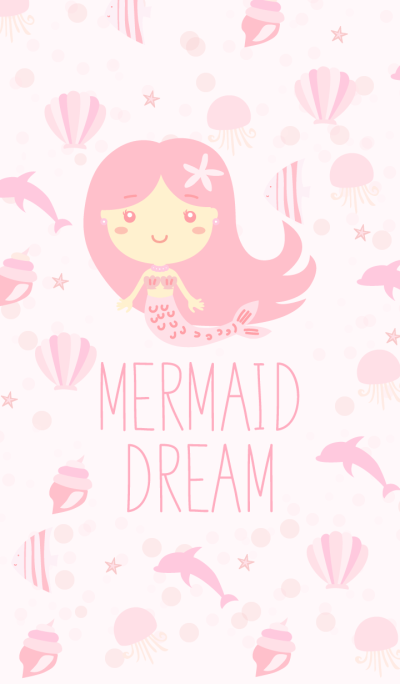 Mermaid Dream Pink