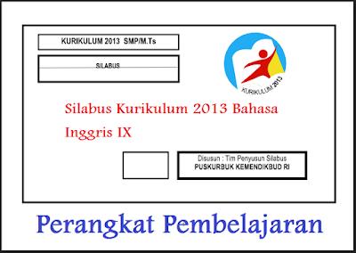 Silabus Kurikulum 2013 Bahasa Inggris IX