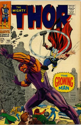 Thor #140, the Growing Man