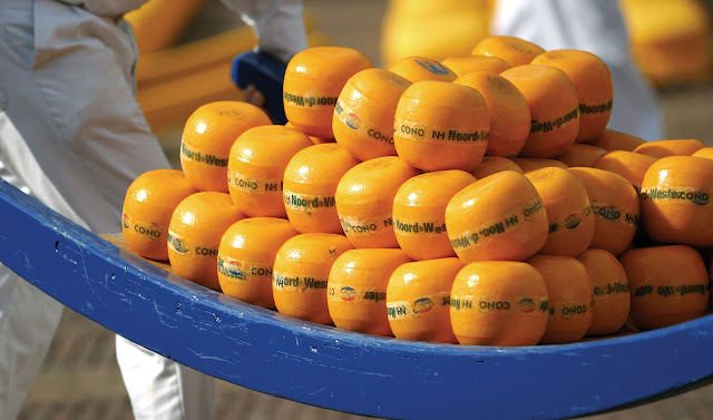 Mercato del Formaggio Olandese di Alkmaar