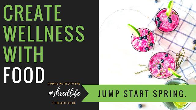 Jump Start June Wellness Program I Shred Life I Paleo Vegan