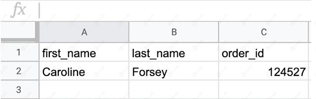 Dữ liệu có cấu trúc trong Excel